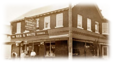 Friendship Trail - historic storefront image
